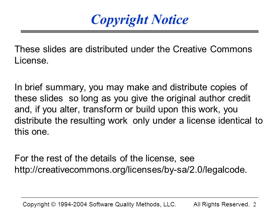 Copyright © Cem Kaner, All rights reserved.Page 13 (Themes, continued...) 3.