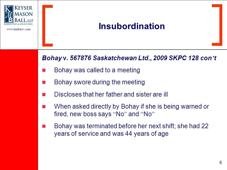 www.kmblaw.com. 6 Bohay v.