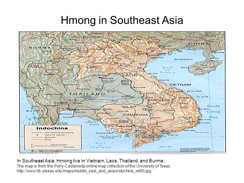 Origins of the Hmong People in China and Southeast Asia 2700 B.C.: It is believed by some scholars that the Hmong Occupied the Yellow River region of China at this time.