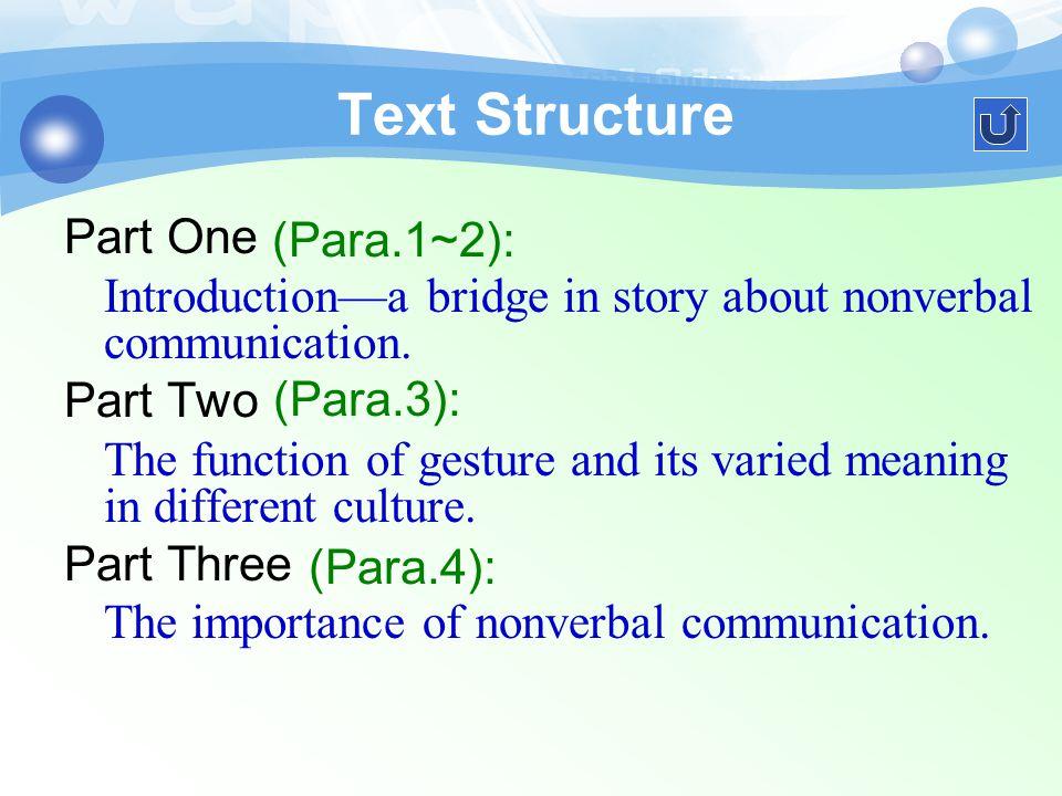 任务 3 Text Structure 任务二 Text Learning