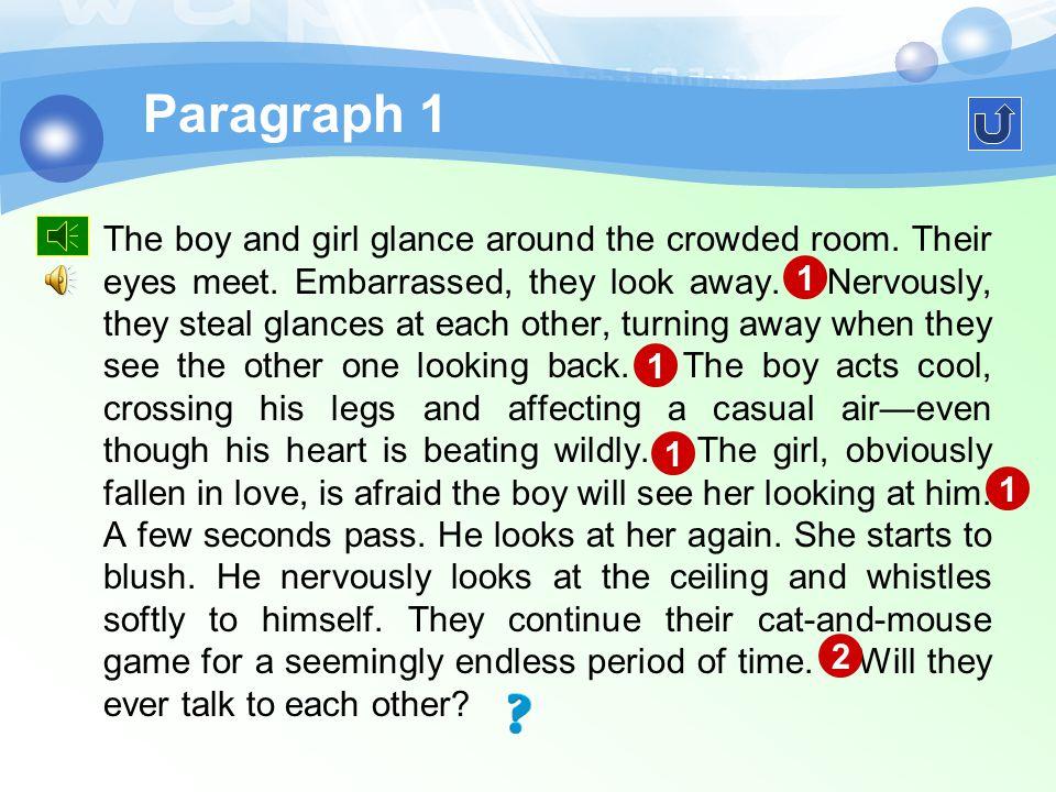 Text Understanding Nonverbal Communication Para. 1Para. 2 Para. 3Para. 4