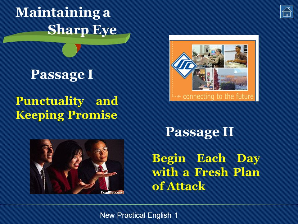 New Practical English 1 Text Intensive Study Difficult Sentences Important Words