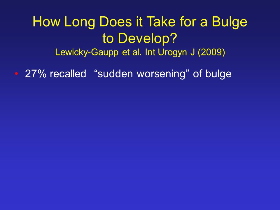 How Long Does it Take for a Bulge to Develop.Lewicky-Gaupp et al.