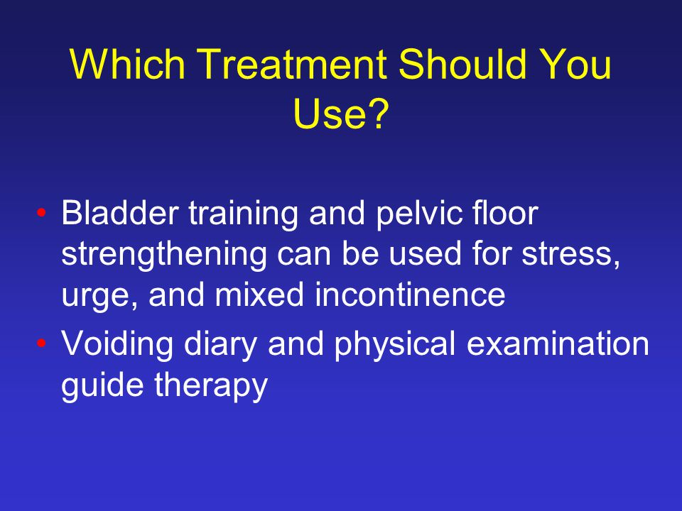 Which Treatment Should You Use.