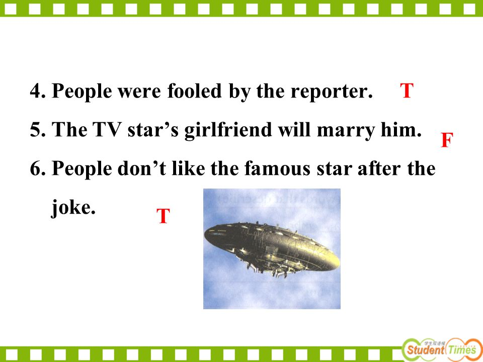 After reading, which story do you think is the most believable.