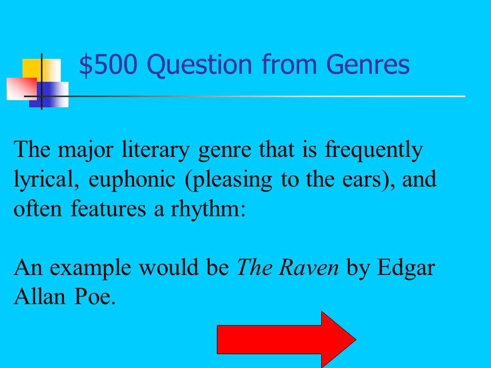 $400 Answer from Genres What is narrative nonfiction?