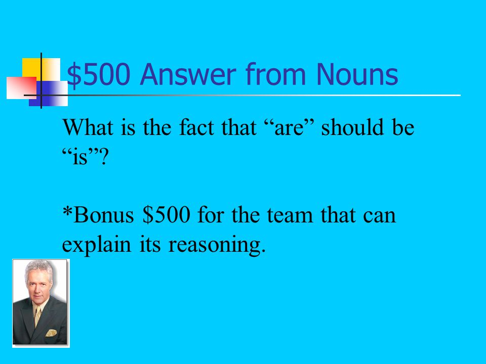 $500 Question from Nouns The necessary correction in the following sentence: All of my family are going on this vacation.