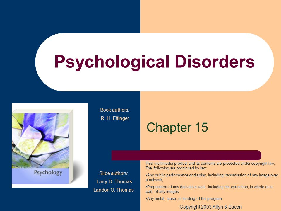 Copyright © 2007 Horizon Textbook Publishing All rights reserved Mood Disorders Causes of mood disorders (continued) –The vast majority of first episodes of depression strike after major life stress –Cui and Vaillant Found that negative life events as well as family history played significant roles in the development of mood disorders