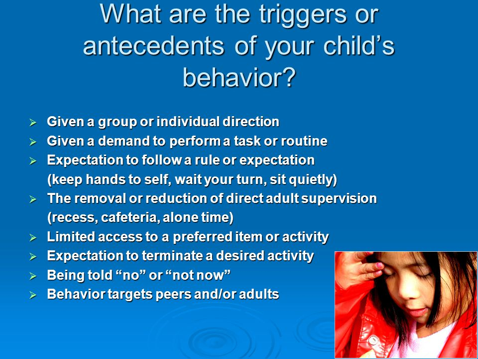 Identifying and Defining the Problem behavior  Why frequency may be skewed.  Why other kids may be doing the same thing and it may not be as problem