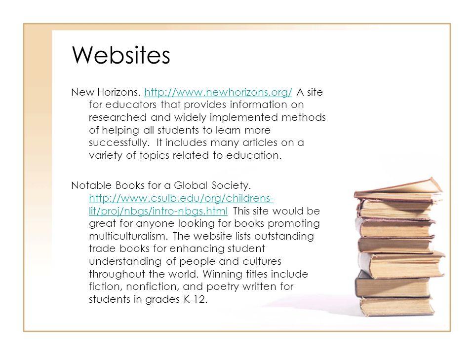 Websites New Horizons.