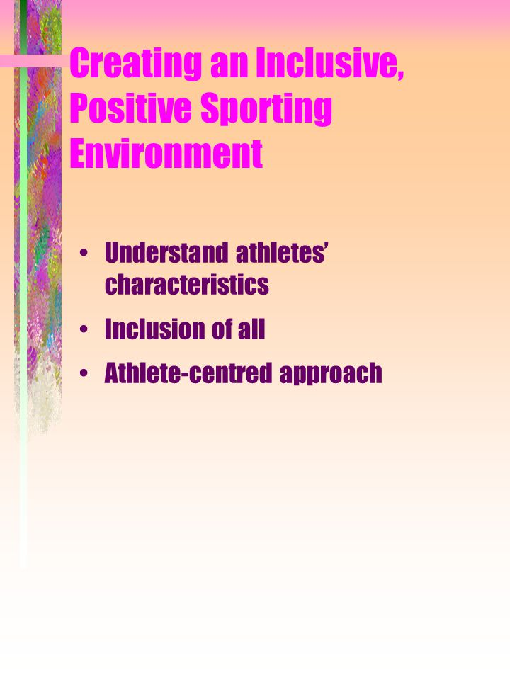 Guidelines for Using Punishment Be consistent Punish the behaviour, not the person Allow athletes' input for making up punishments Do not use physical activity as a punishment Ensure punishment is not perceived as a reward or getting attention Impose punishment impersonally Do not punish athletes for making errors in performance Do not embarrass individuals Use punishment sparingly