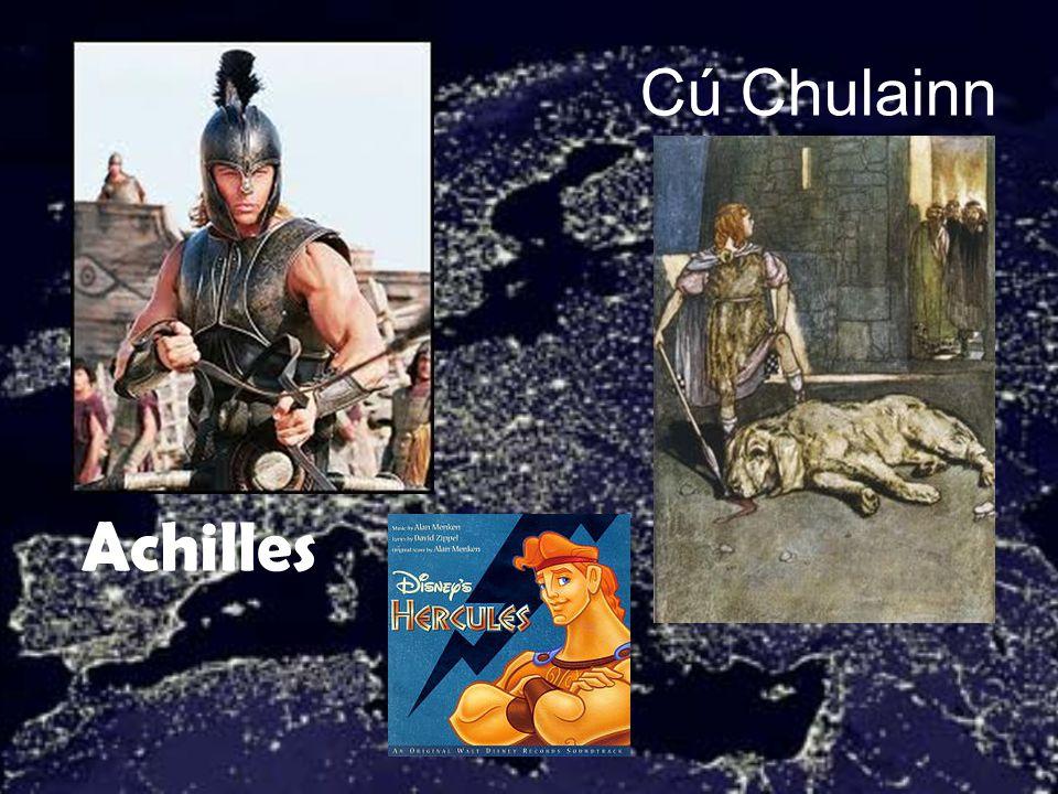Cú Chulainn Achilles