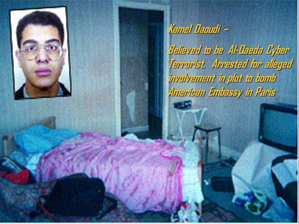 1. Finsbury Park Mosque, North London 2. Djamel Beghal 8. Abu Hamza 3. Kamel Daoudi 4. Zacarias Moussaoui 5. Richard Reid 6. Feroz Abbasi 7. Nizar Tri