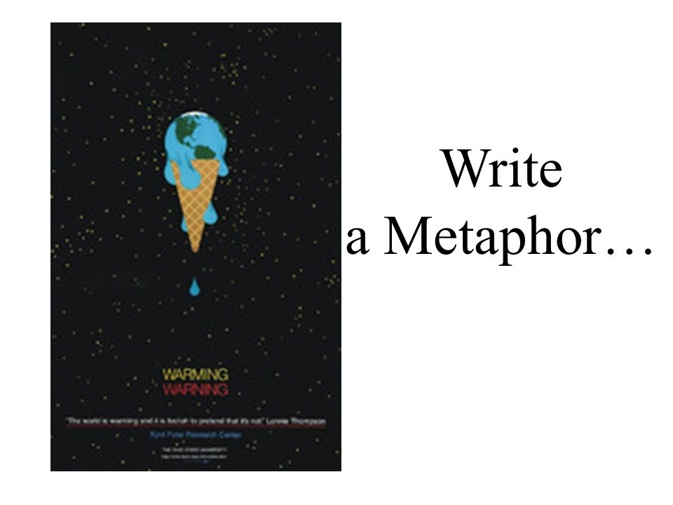 Write a Metaphor…