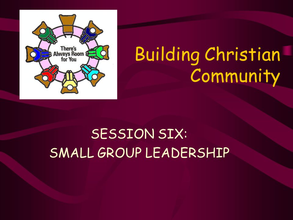 The Shape of Your Future Church… …may well be determined by the quality of your small group leaders… ?