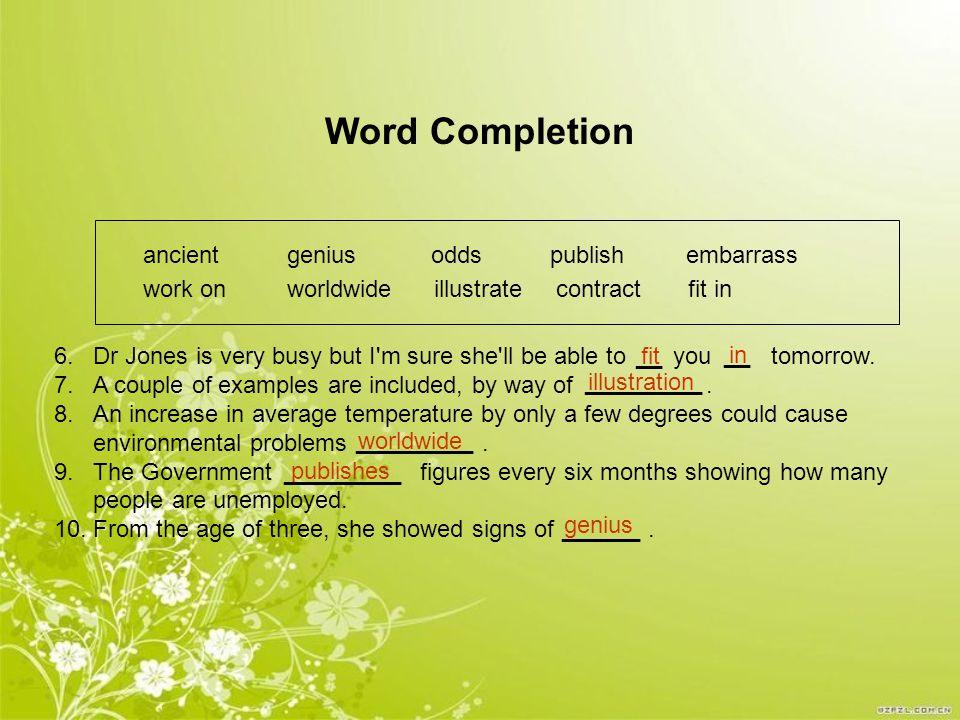 Writing skills Combination 1.