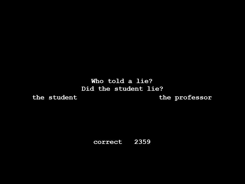 -----------------------------------------------. Thestudenttoldtheprofessorthateveryonehatedalie.