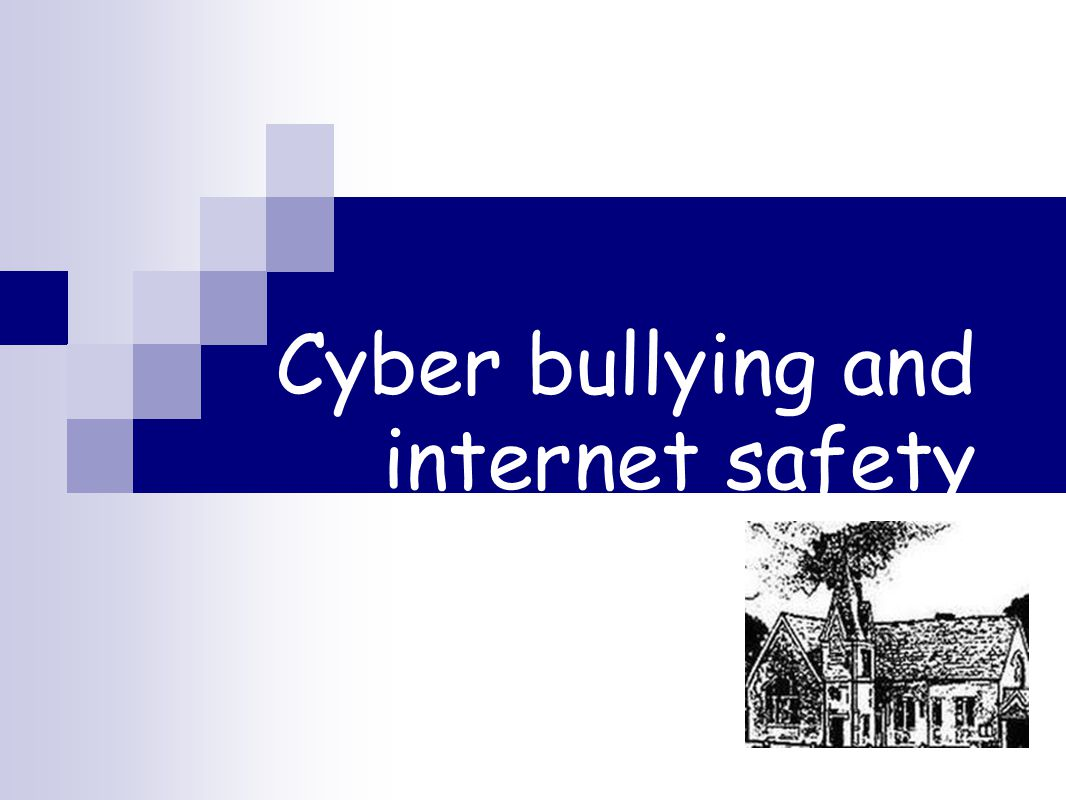 Cyber bullying and internet safety Parents meeting: staying safe online
