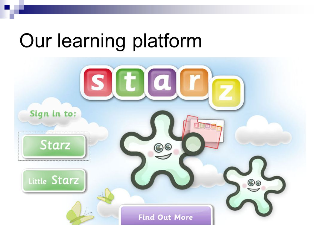 Our learning platform