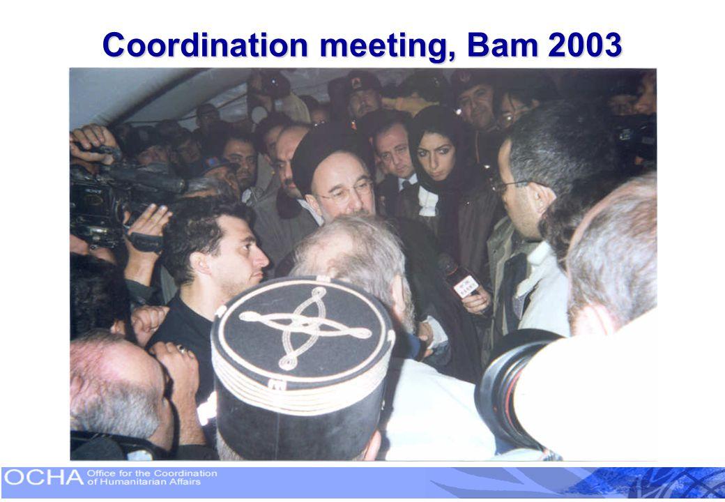 Coordination Meeting, Pakistan 2005