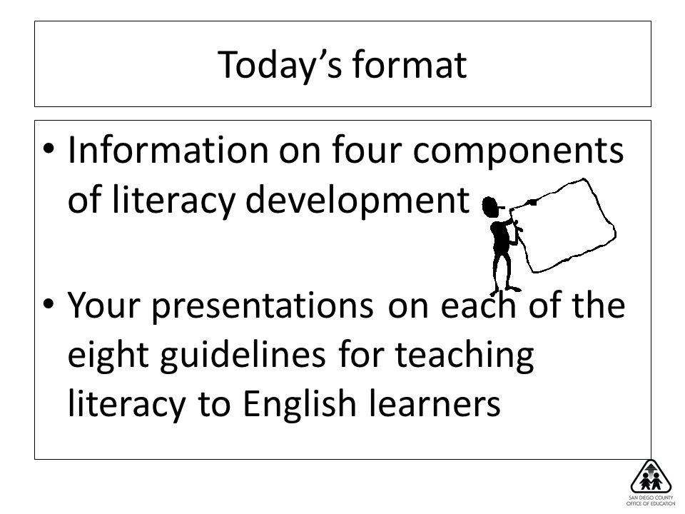 Chapter 4 Overview 6 Primary Source: The National Literacy Panel for Language Minority Children and Youth (August & Shanahan 2006) Chapter is based on the most up-to-date, comprehensive review of the best studies on teaching literacy to ELs.