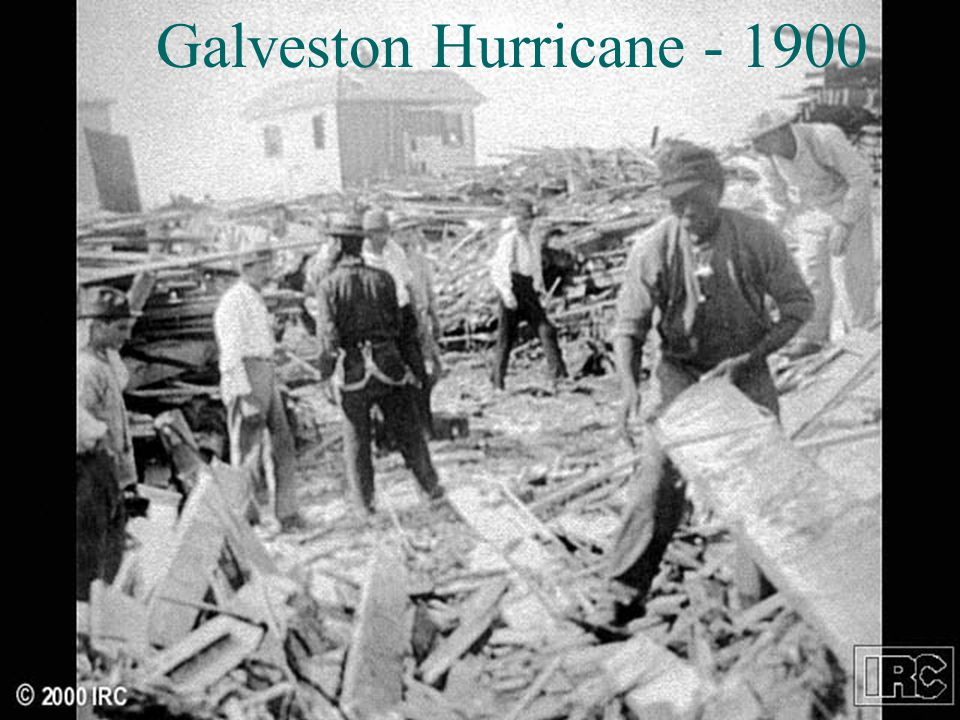 Galveston Hurricane - 1900