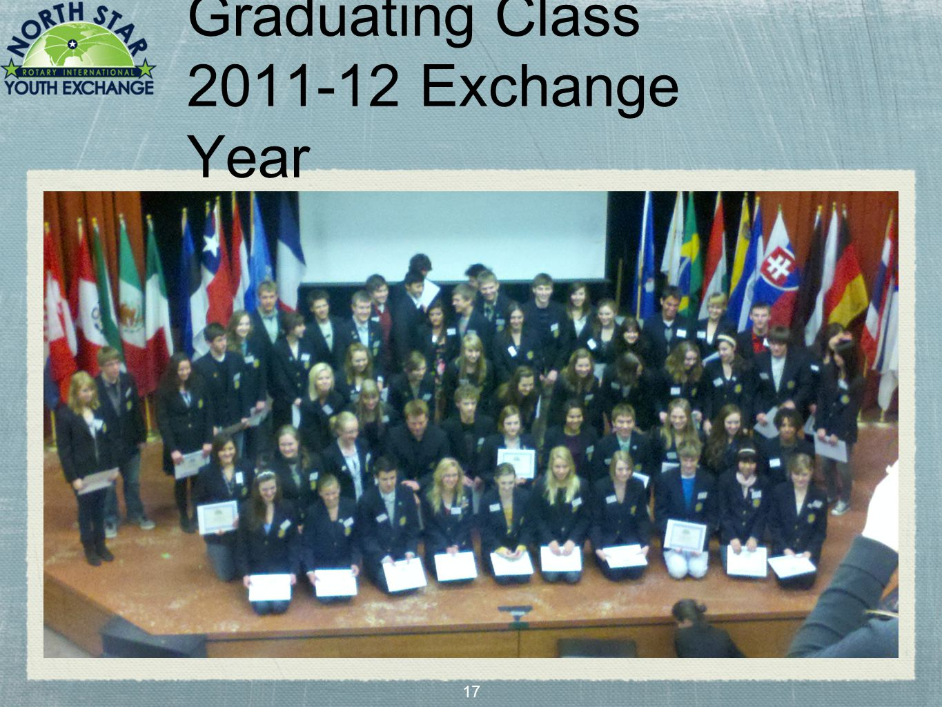 17 Graduating Class 2011-12 Exchange Year