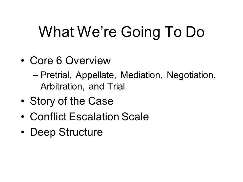 Negotiation: Key Concepts Preparation, preparation, preparation What do you know.