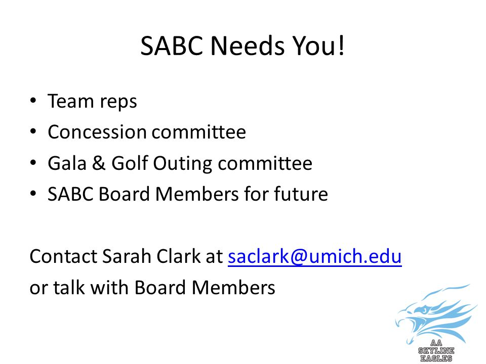 SABC Needs You.