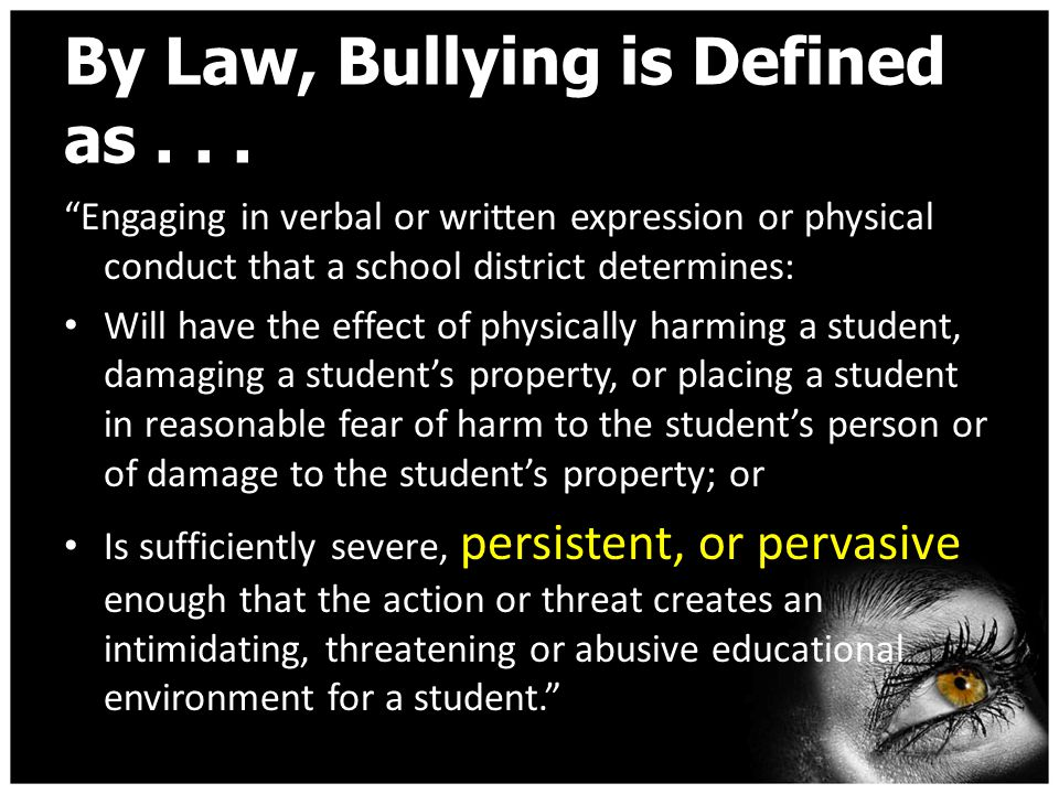 Possible School Consequences for the Mistreatment of Others: Peer Mediation In School Suspension Loss of Mega Lunch Suspension of 1-3 days Bridge Expulsion These consequences are stated in the student code of conduct on pages 22-23.