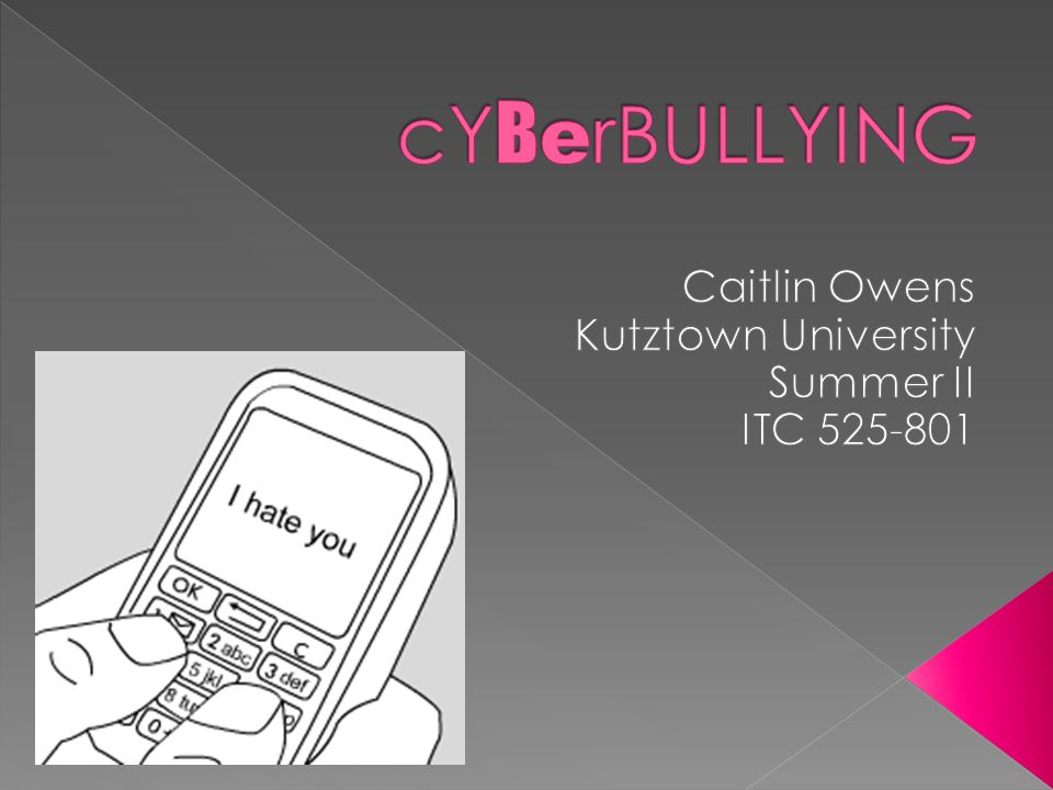 What is Cyber Bullying.Are you a Cyber Bully. Why are they Cyber Bullies.