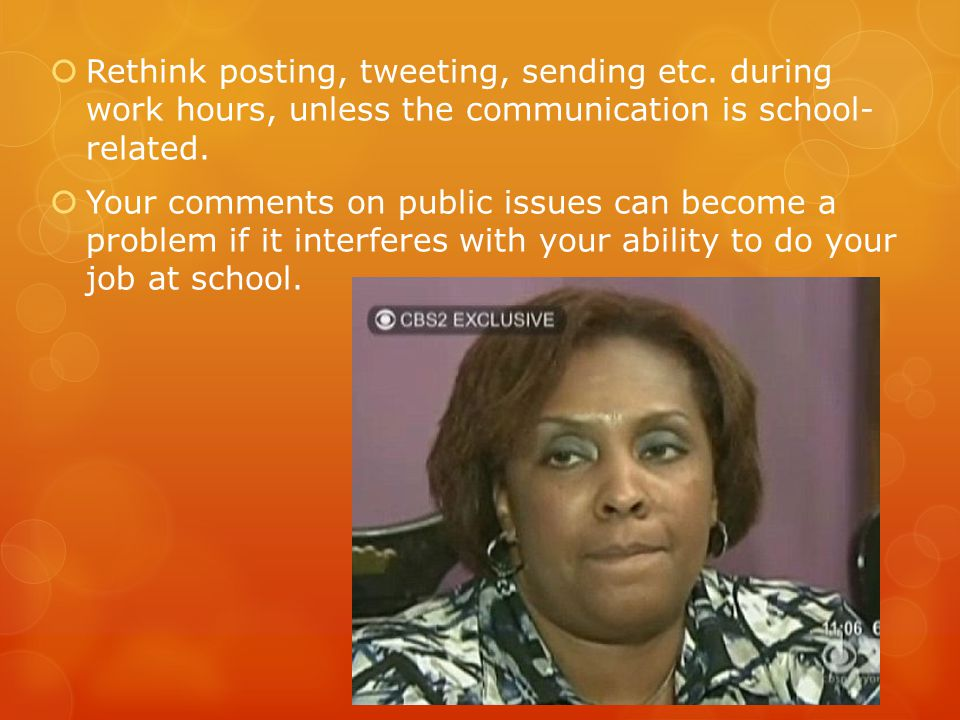  Rethink posting, tweeting, sending etc.
