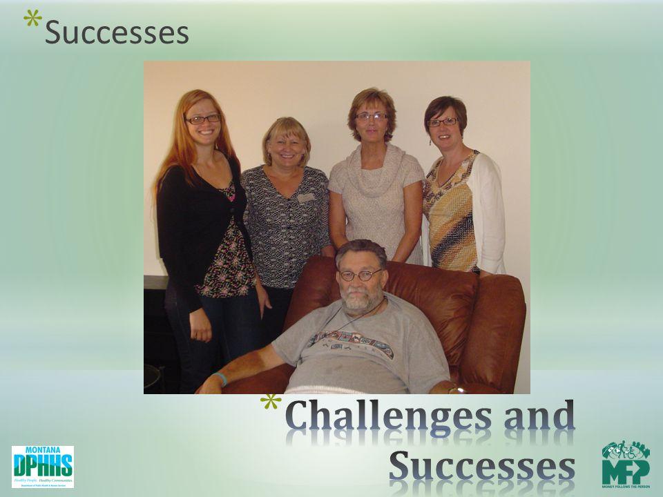 * Successes