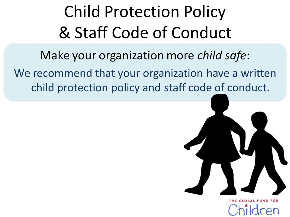 Child Protection Policy & Staff Behavior Code of Conduct What Should a Child Protection Policy Include.