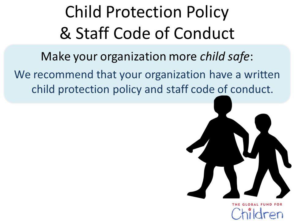 Child Participation Make sure all children can participate, regardless of ability, religion, race, gender, etc.