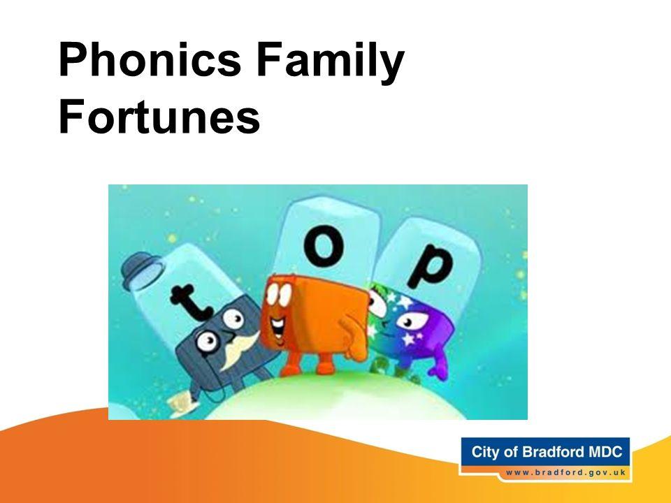 Phonics Family Fortunes