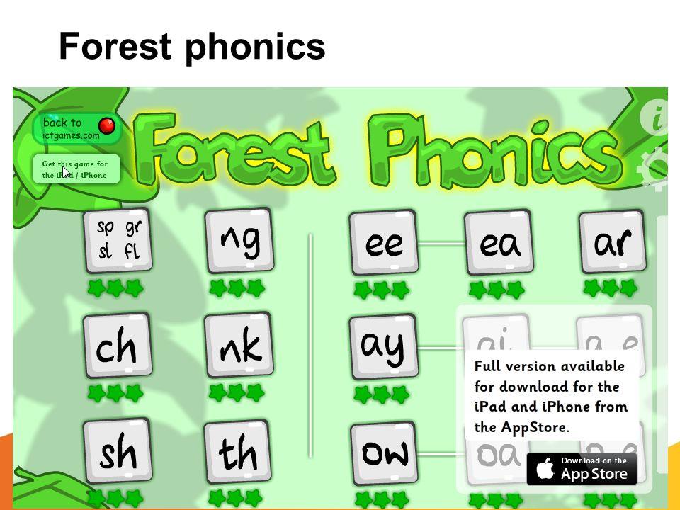 Forest phonics