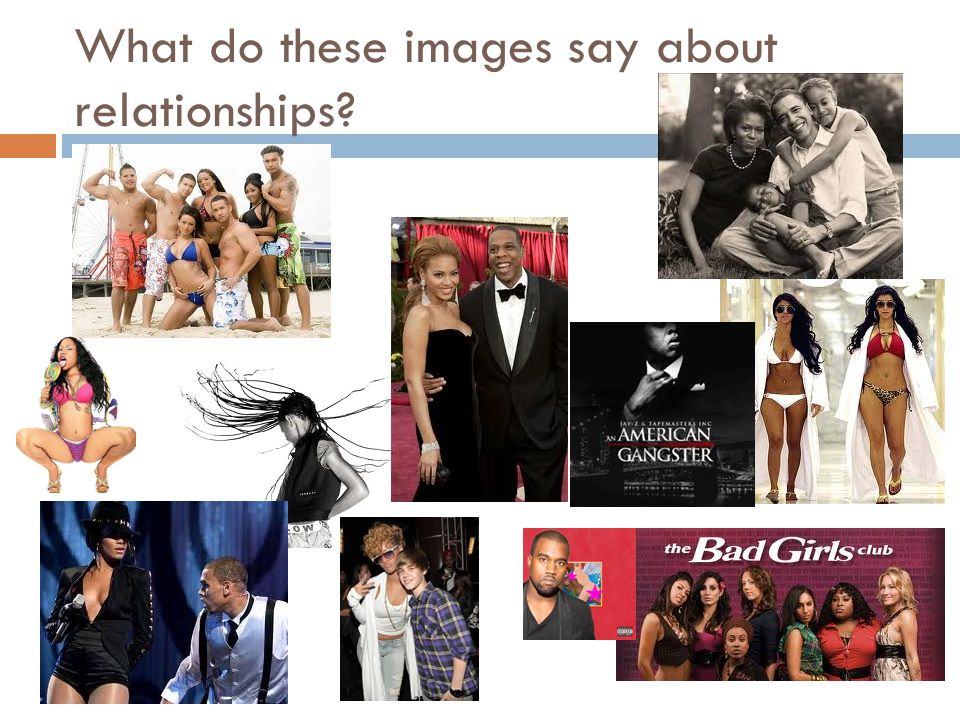 What do these images say about relationships