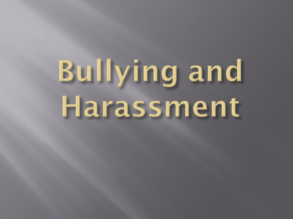  Entry Task Questions  Do you think bullying is a problem at our school.