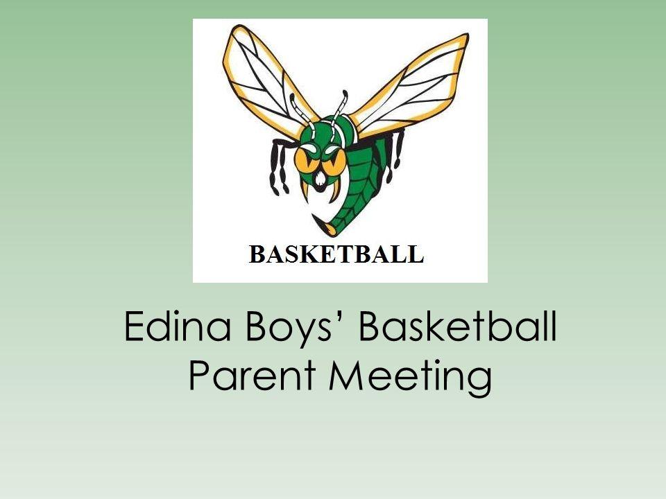 Edina Boys' Basketball Parent Meeting