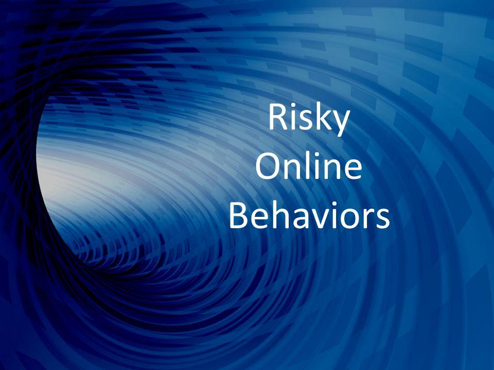 Risky Online Behaviors
