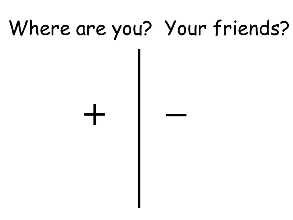 + _ Where are you Your friends