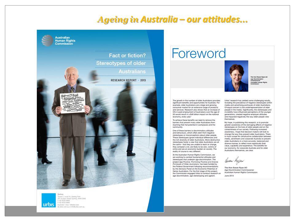 Ageing in Australia – our attitudes...