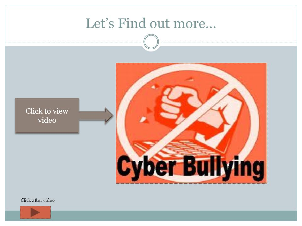 What Is Cyber Bullying.