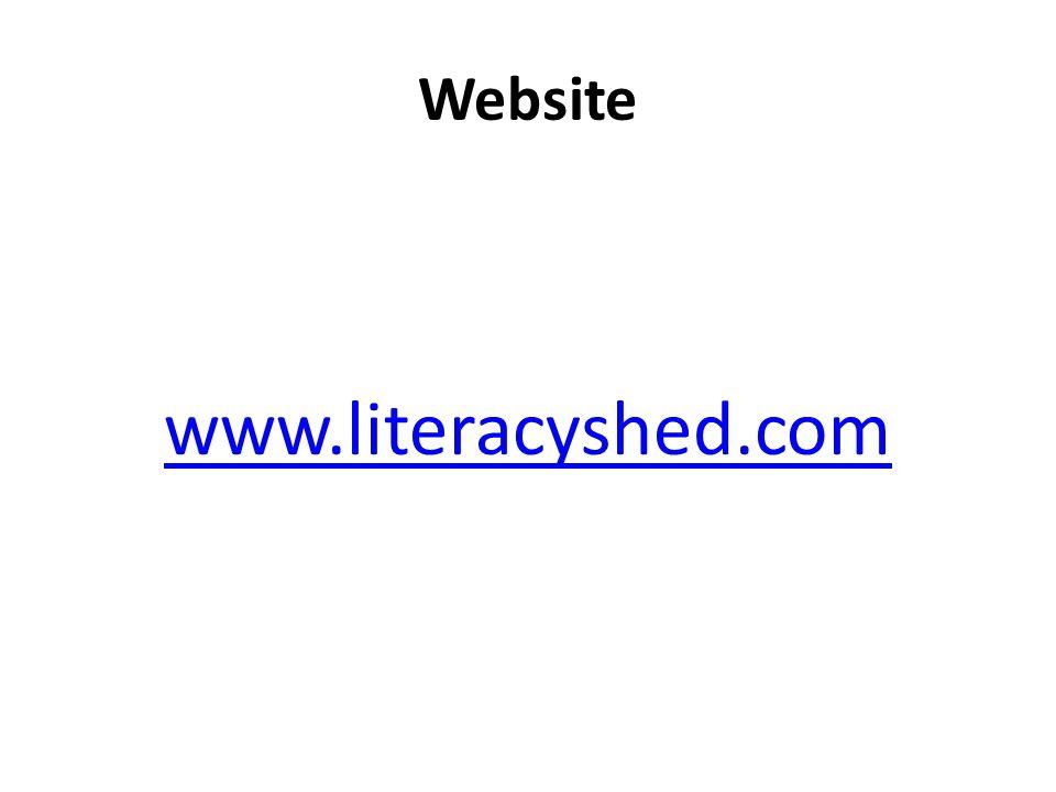 Website www.literacyshed.com