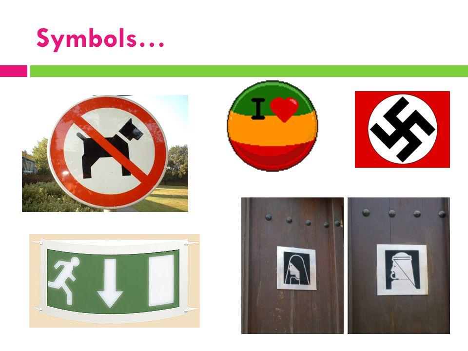 Symbols…