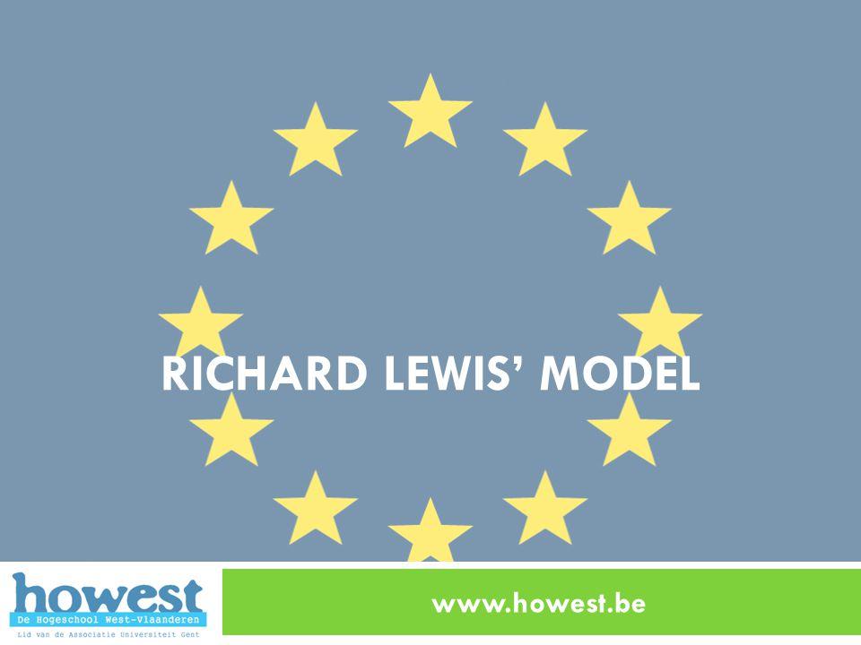 RICHARD LEWIS' MODEL www.howest.be