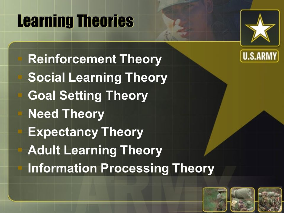 LEARNING THEORY: HOW IT INFORMS LEARNING FROM THE AAR