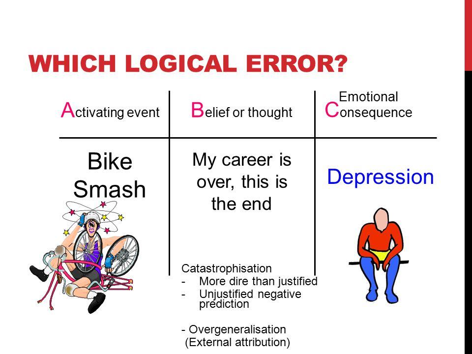 WHICH LOGICAL ERROR.