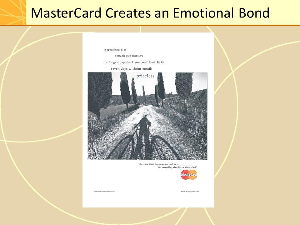 MasterCard Creates an Emotional Bond